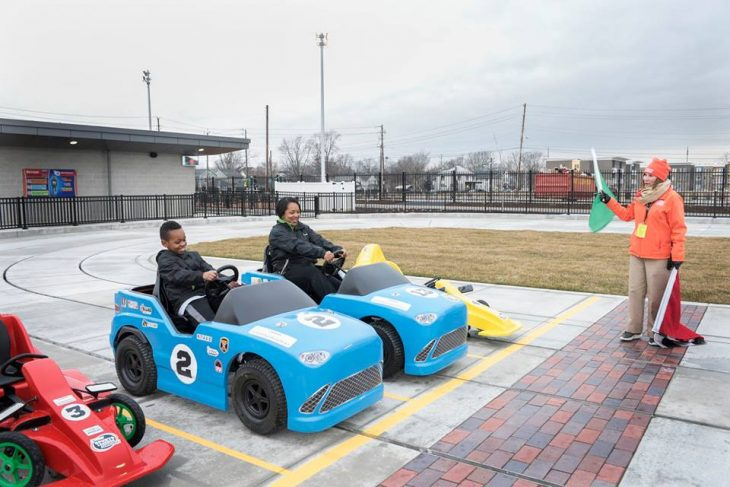 Take to the track in your very own indy 500 car.