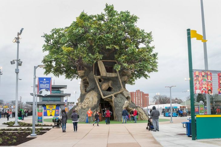 Just like the Tree of Life at Disney the Sports Legend Park at (c)childrens museum of indianapolis