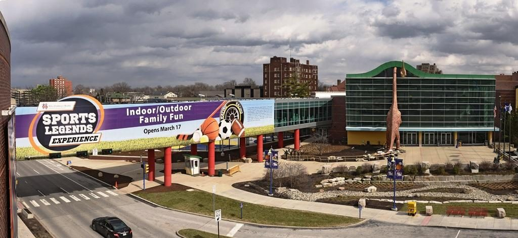 The new sports legend park at the childrens museum in indianapolis is a huge investment in the city and a must visit for families