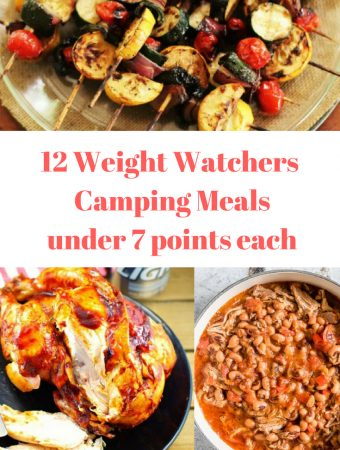 12 Weight Watchers Easy Camping Meals under 7 points each