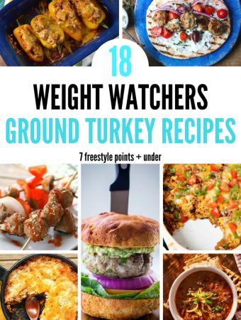 18 Weight Watchers Ground Turkey Recipe – 7 Freestyle Points + under