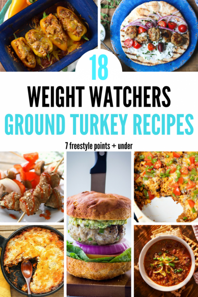 18 Weight Watchers Ground Turkey Recipe – 7 Freestyle Points + under