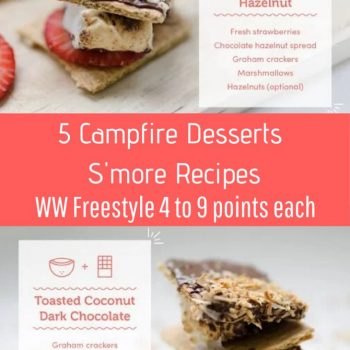 5 Campfire Desserts S'more Recipes