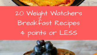 20 Weight Watchers Breakfast Ideas: 4 points or less!