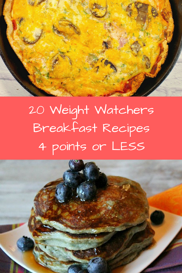Save your Weight Watchers Freestyle points for later in the day by starting out the day with one of the breakfast ideas that are 4 points or less!