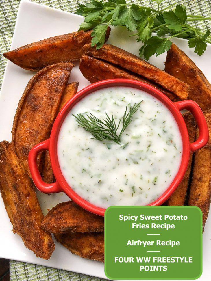 Sweet Potato Fries Airfryer
