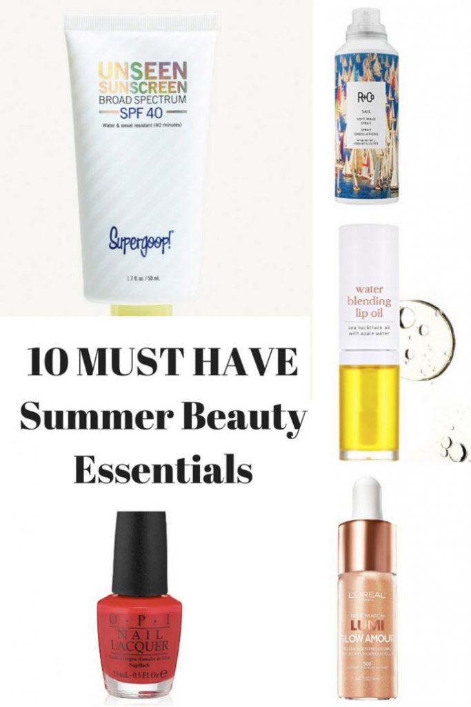 10 MUST HAVE Summer Beauty Essentials