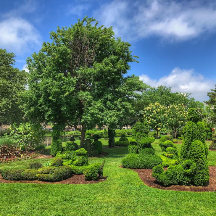 Topiary Park in Columbus, OH