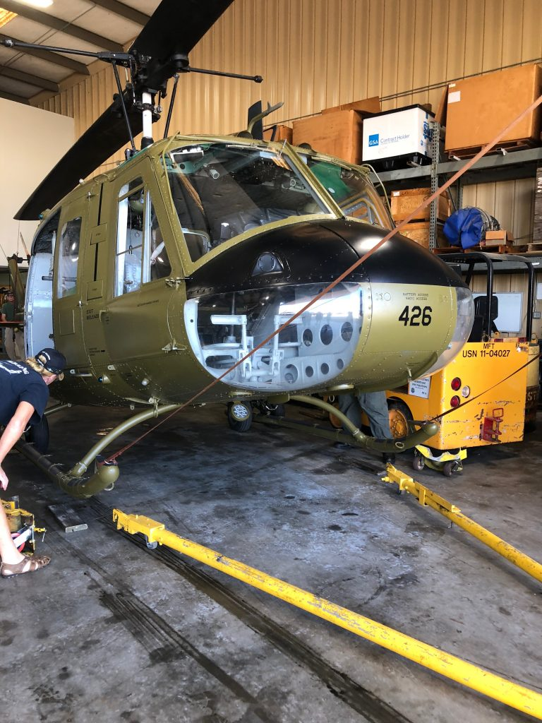 Huey Helicopter ride is a once in a lifetime experience.