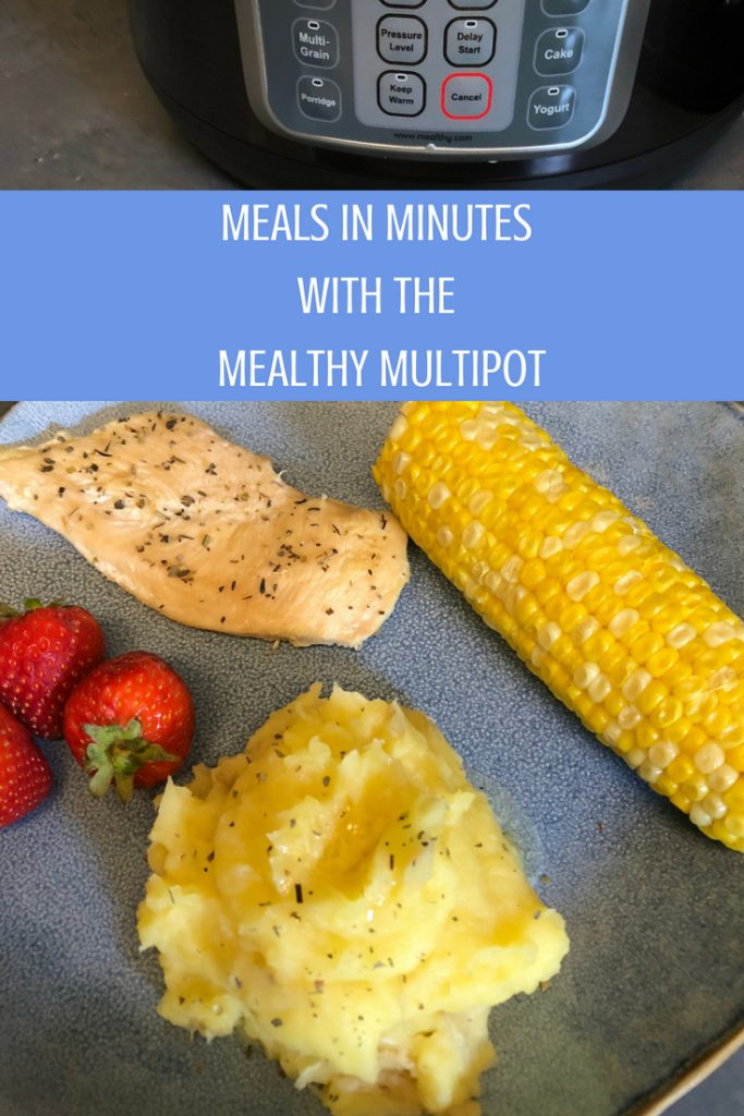 WIN MEALS IN MINUTES WITH THE MEALTHY MULTIPOT