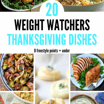 weight watchers thanksgiving recipes