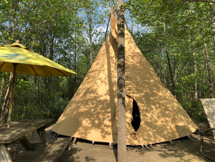 Use this guide to make the most of your visit to French Lick, IN including a stay in a teepee at Sleeping Bear Campground