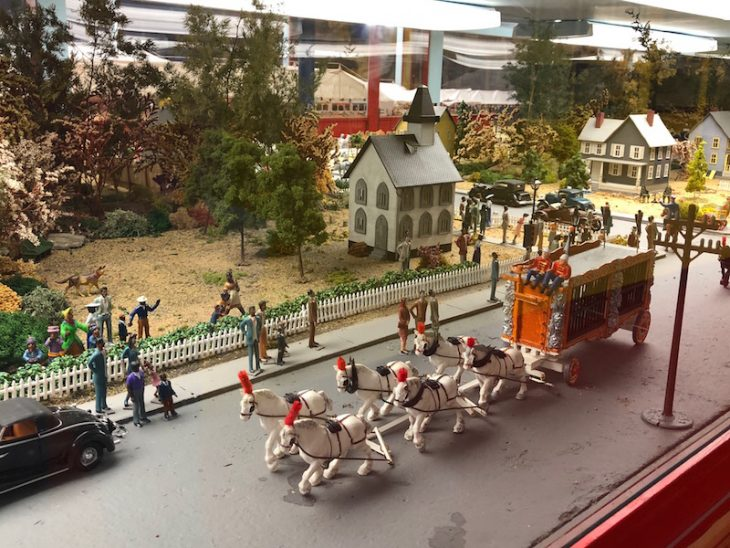 Circus Diorama at the French Lick Museum