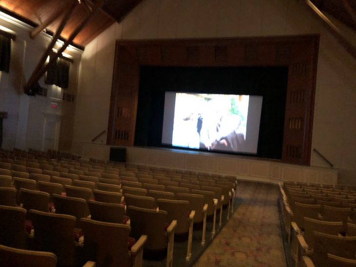 movie theater at Mission Point Resort