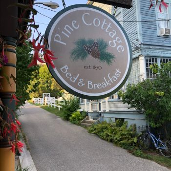 Pine Cottage: A Mackinac Island Bed and Breakfast