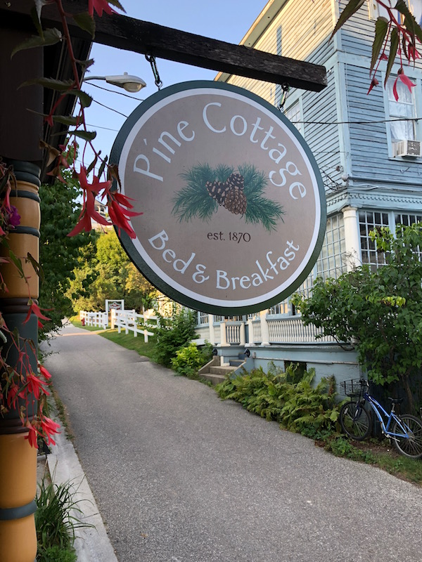 Pine Cottage Mackinac Island Hotels