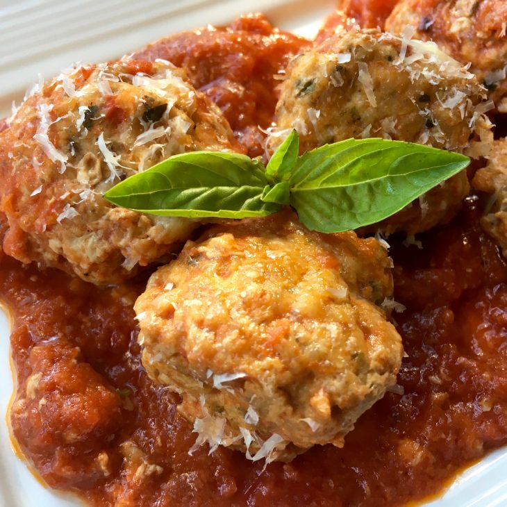 Baked Turkey Meatballs Recipe