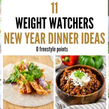 11 Weight Watchers Dinner Ideas