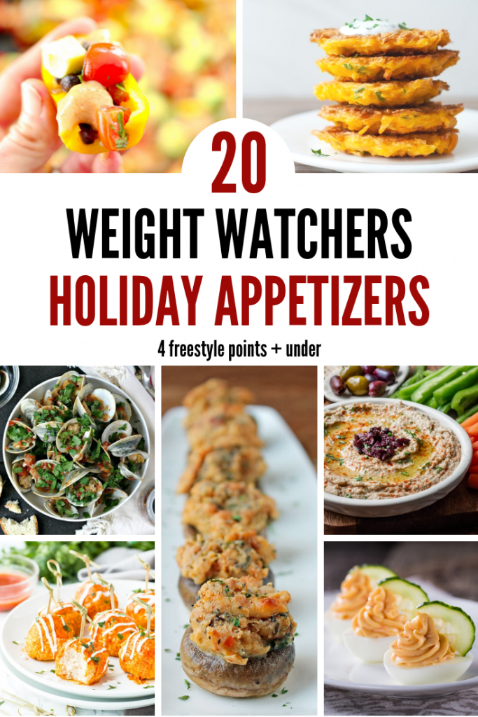 20 Weight Watchers Holiday Appetizers– 4 Freestyle Points + under Pinterest