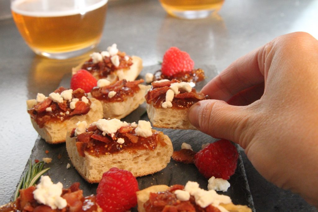 Fig & Bacon Bites