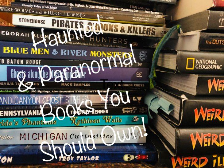 haunted books