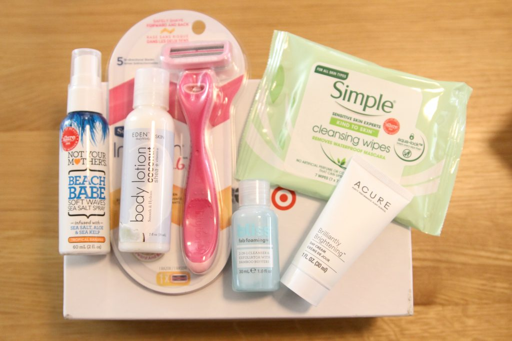 Target Monthly Sample Beauty Subscription Box