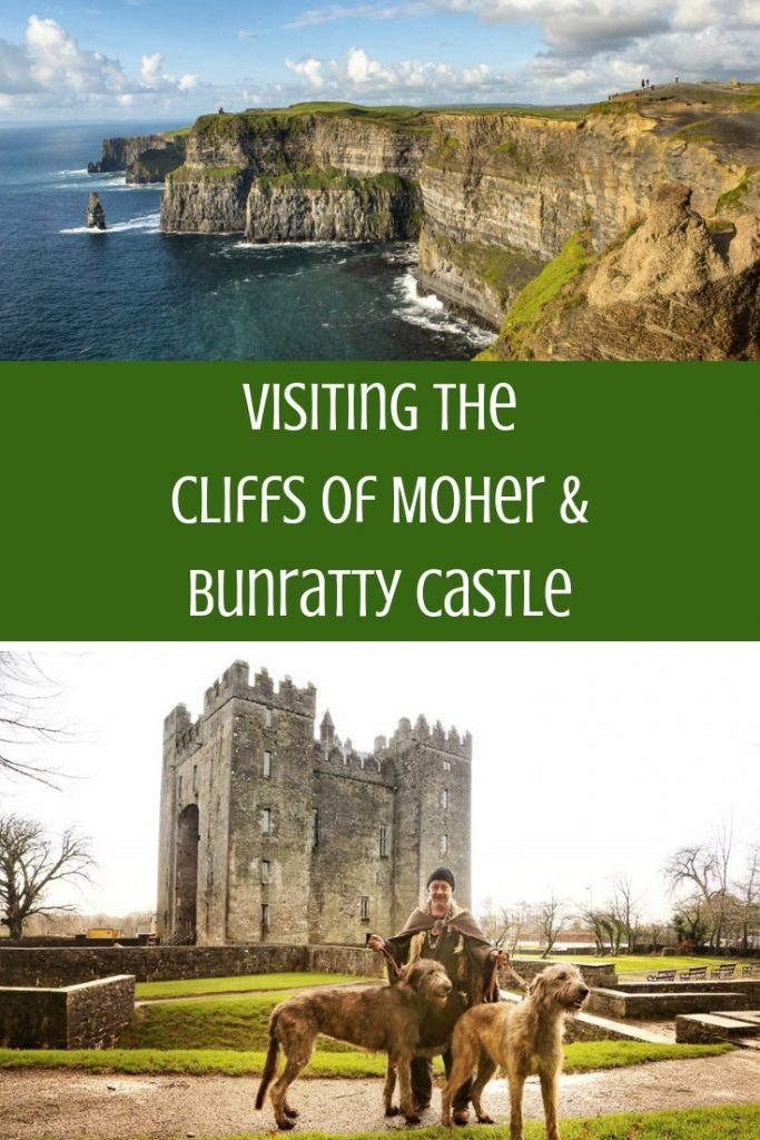 Visiting The Cliffs of Moher & Bunratty Castle