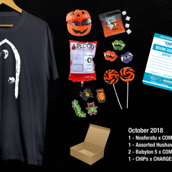 Comet! Charge! October Prize Pack