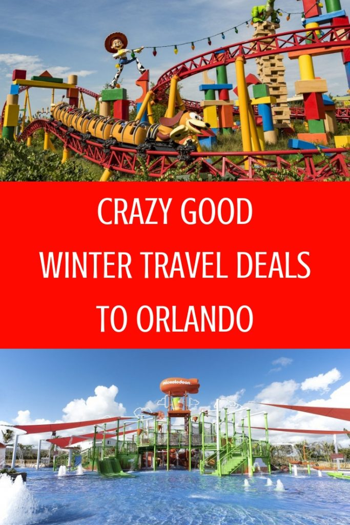 Crazy Good Winter Travel Deals to Orlando