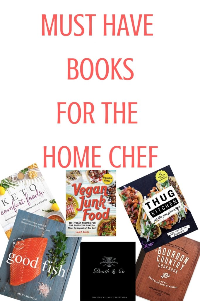Must Have books for the home chef