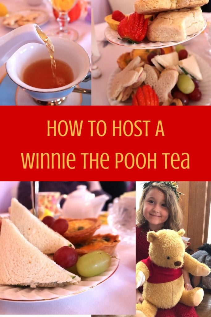 How To Host A Winnie the Pooh Tea
