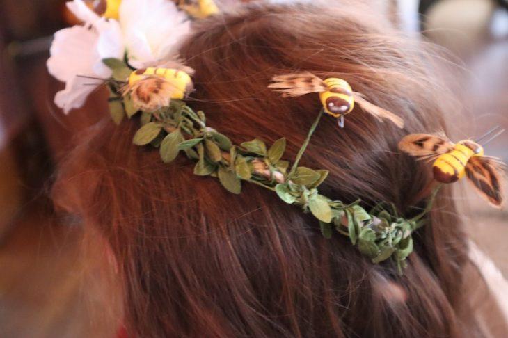 Winnie the pooh hair wreath