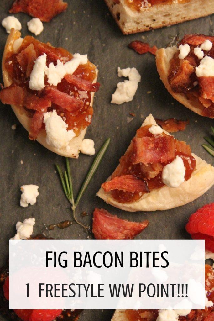 fig bacon bites 1 FREESTYLE WW POINT!!!