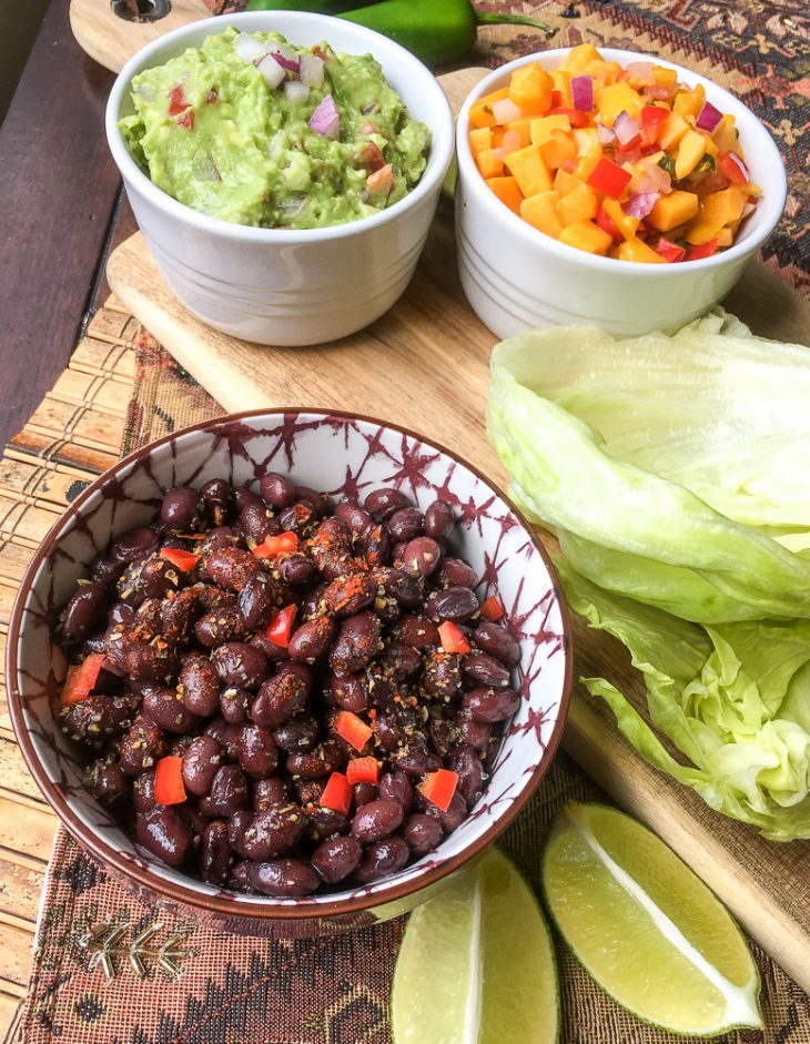 Spicy Black Bean Taco Wraps - 1 Weight Watchers Freestyle Point