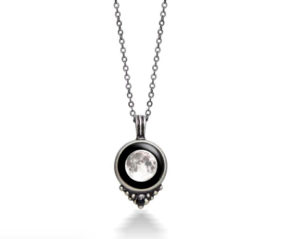 Moon glow necklace the perfect gift for her
