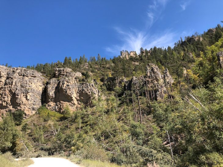 Spearfish Canyon scenic view