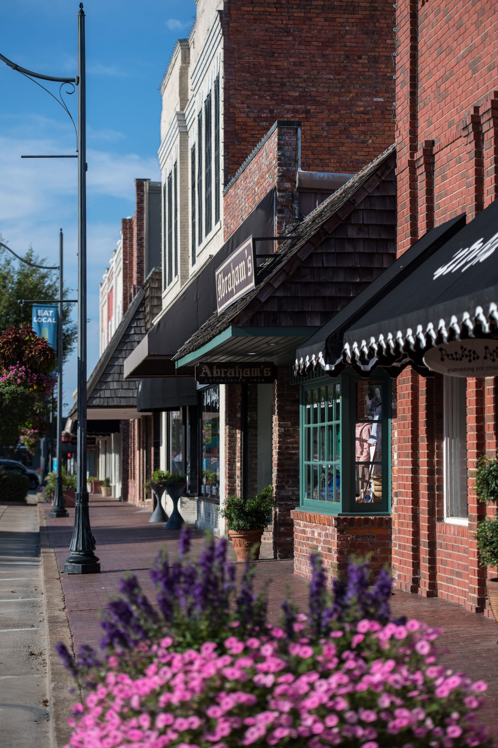 Shopping downtown Cleveland Mississippi