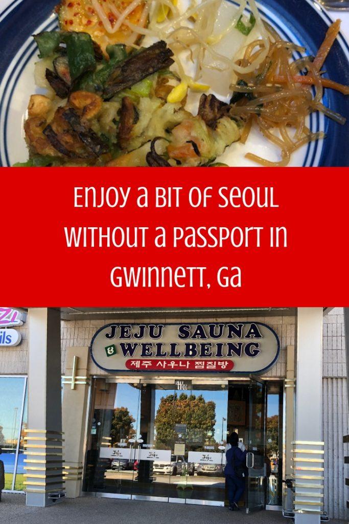 A Bit of Seoul of the South Gwinnett County GA