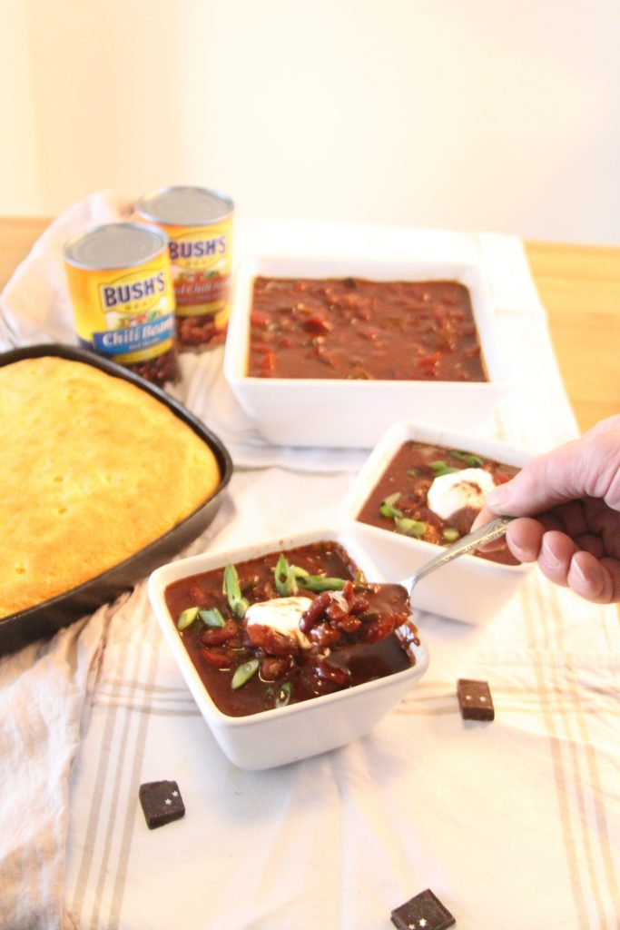 Eat Up Sweet and Spicy Chili Recipe made with chocolate