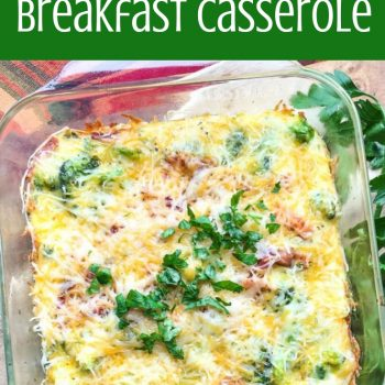 bacon cheddar breakfast casserole