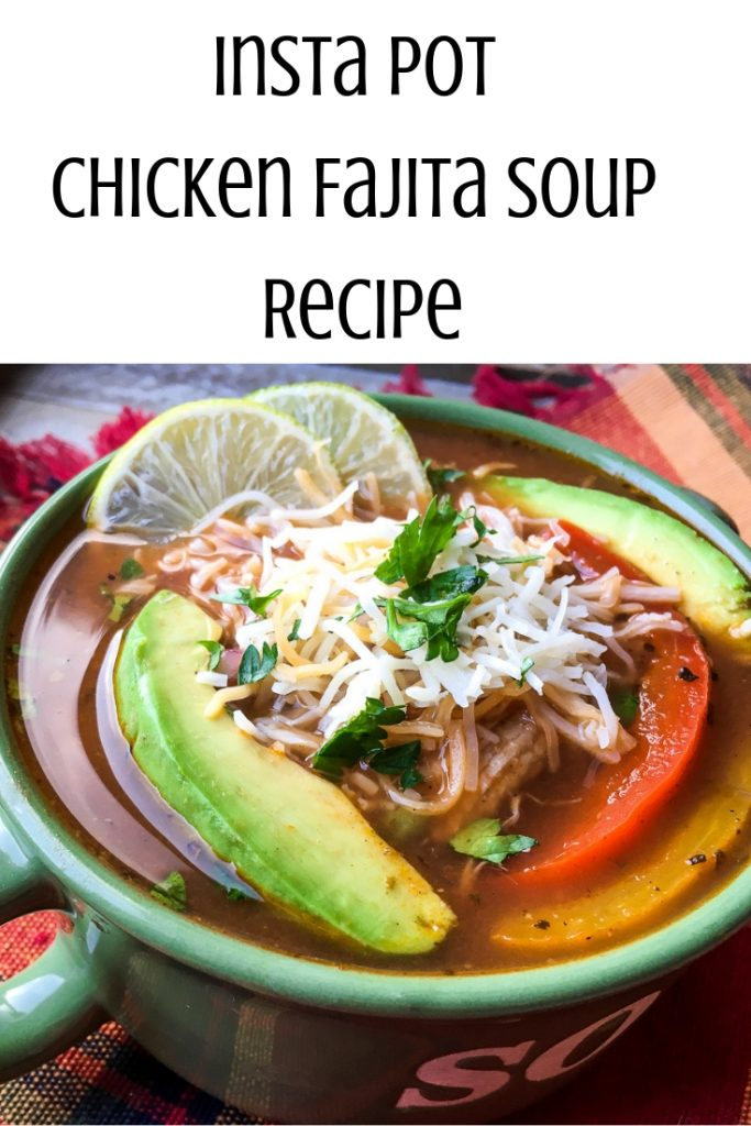 Chicken Fajita Soup Recipe