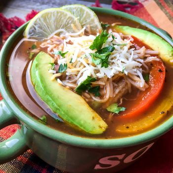 Instapot chicken fajita soup recipe