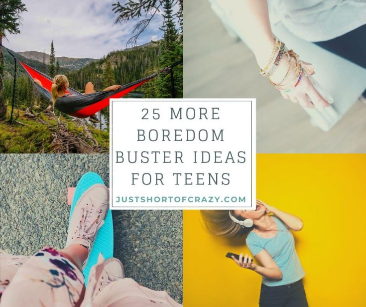 25 More Summer Boredom Busters