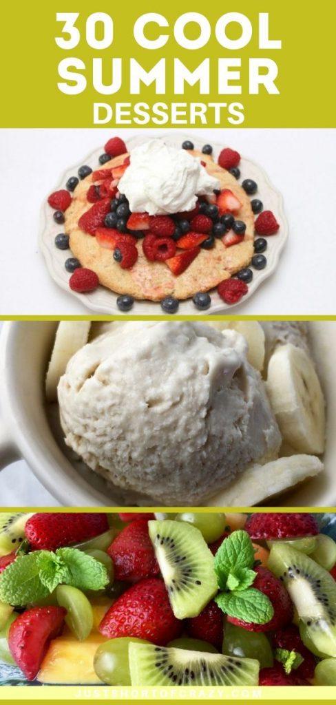 30 cool summer desserts