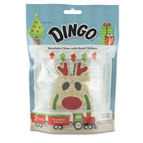 Fun Holiday Themed Chew Treats for Dogs