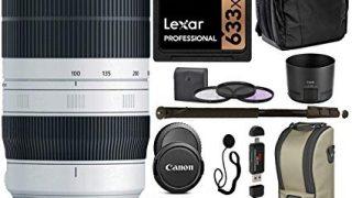 Canon EF 100-400mm f/4.5-5.6L is II USM Lens + Bundle