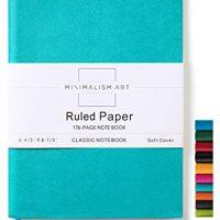 Minimalism Art, Soft Cover Notebook Journal