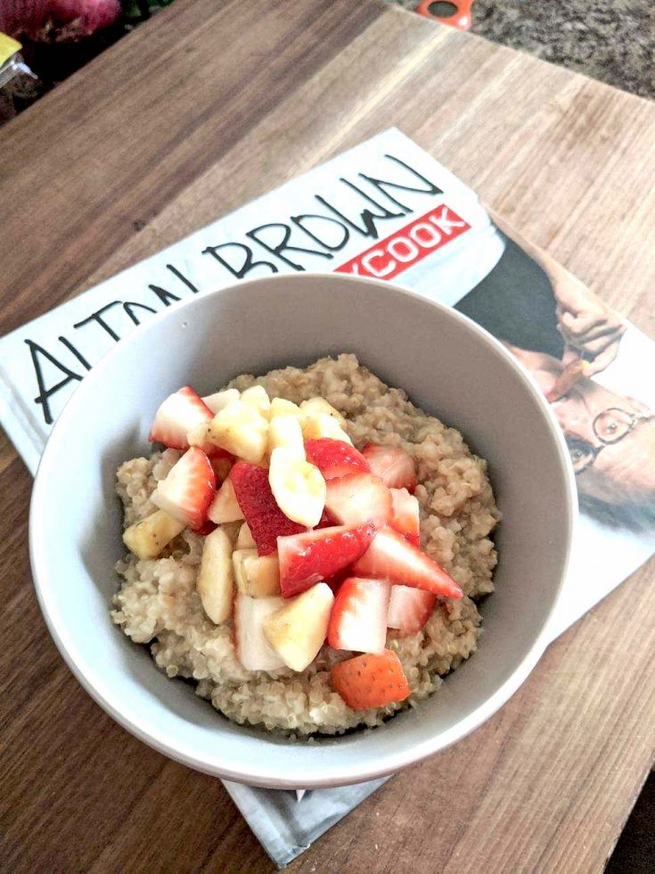 always perfect oatmeal EVERYDAYCOOK book