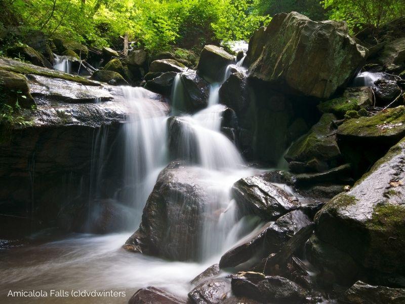 Amicalola Falls Canva Images (c)dvdwinters