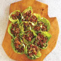 Instant Pot Asian Lettuce Wraps